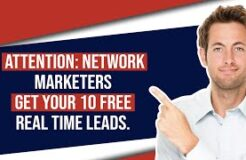 10 Free MLM Leads in Real Time For You To Try