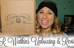 J.R. Watkins Unboxing & Review!