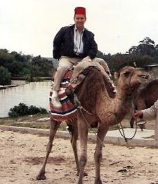 Riding A Camel In Morocco . . . Thinking Of You!