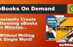 Sqribble Review And Demo Create Ebooks in Minutes!